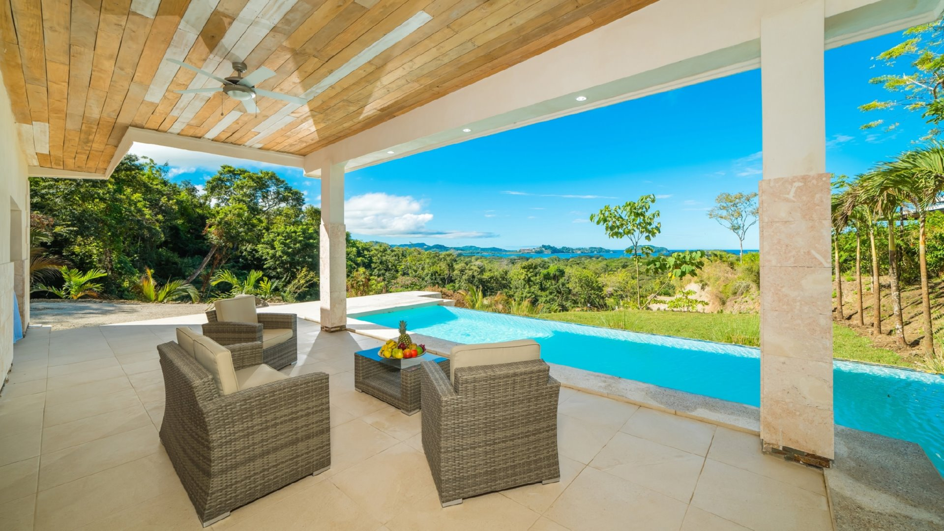 2499-The amazing views from the home for sale along the Gold Coast of Costa Rica