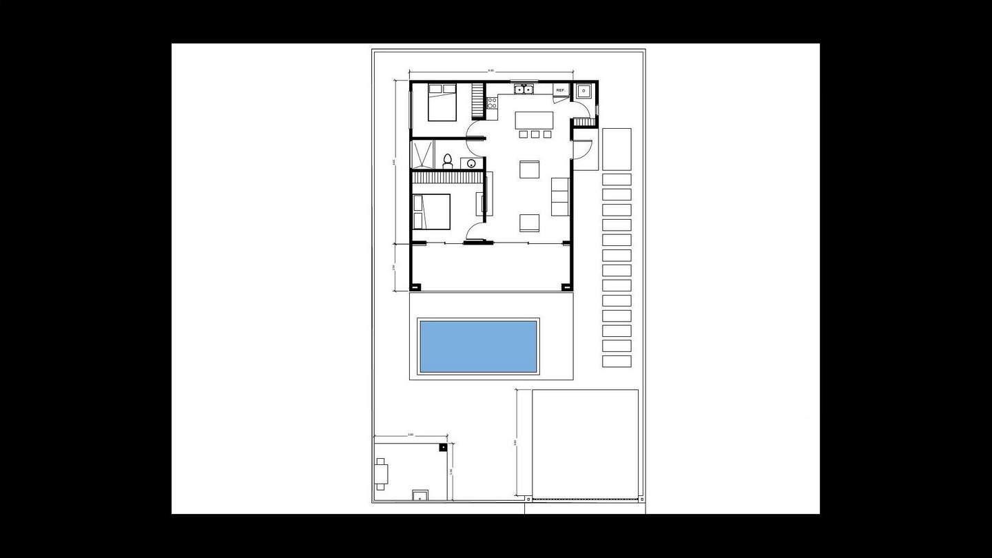 4534-The floor plan of the house