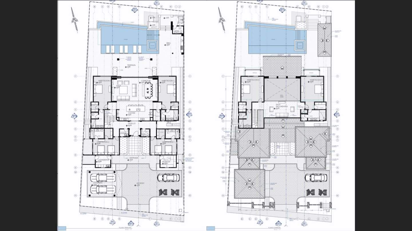 5797-The layout of the two floors