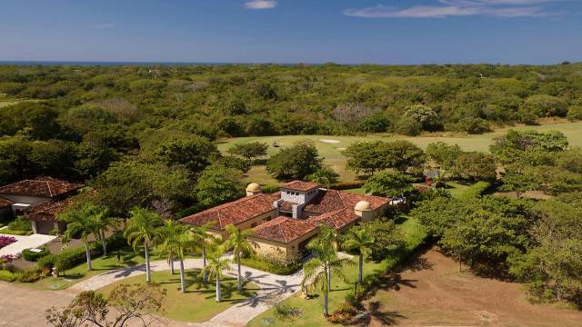 Opulent home for sale with amazing views of one of the most renowned golf courses.