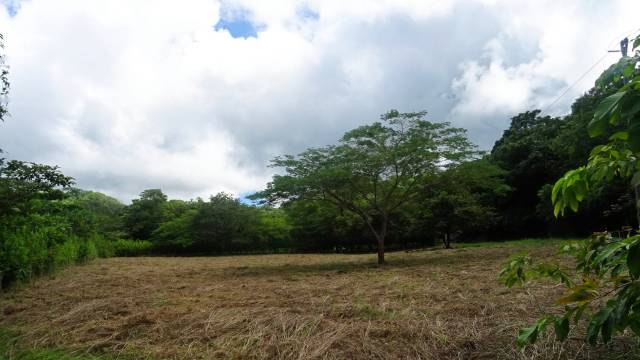 Less than 20 minutes from Tamarindo, wide flat lot with valley views...